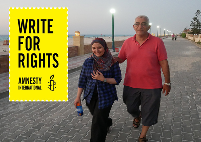 Amnesty Urgent Action – Write for Ola and Hosam's Freedom