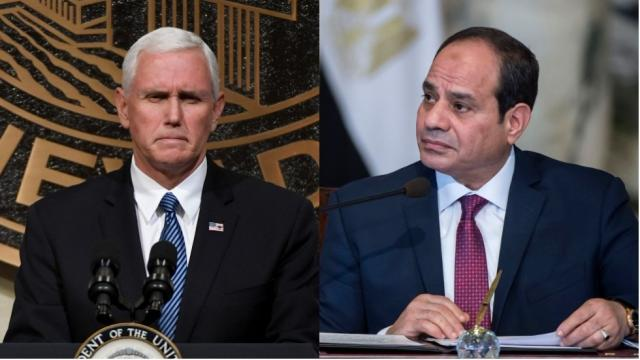 THE HILL: Pence, when you visit Cairo take a stand on human rights abuses