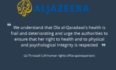 AlJazeera: UN urges Egypt to free Qaradawi's daughter and son-in-law
