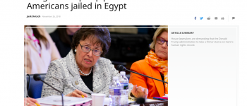 Al Moniter: Congress amps up pressure to free Americans jailed in Egypt